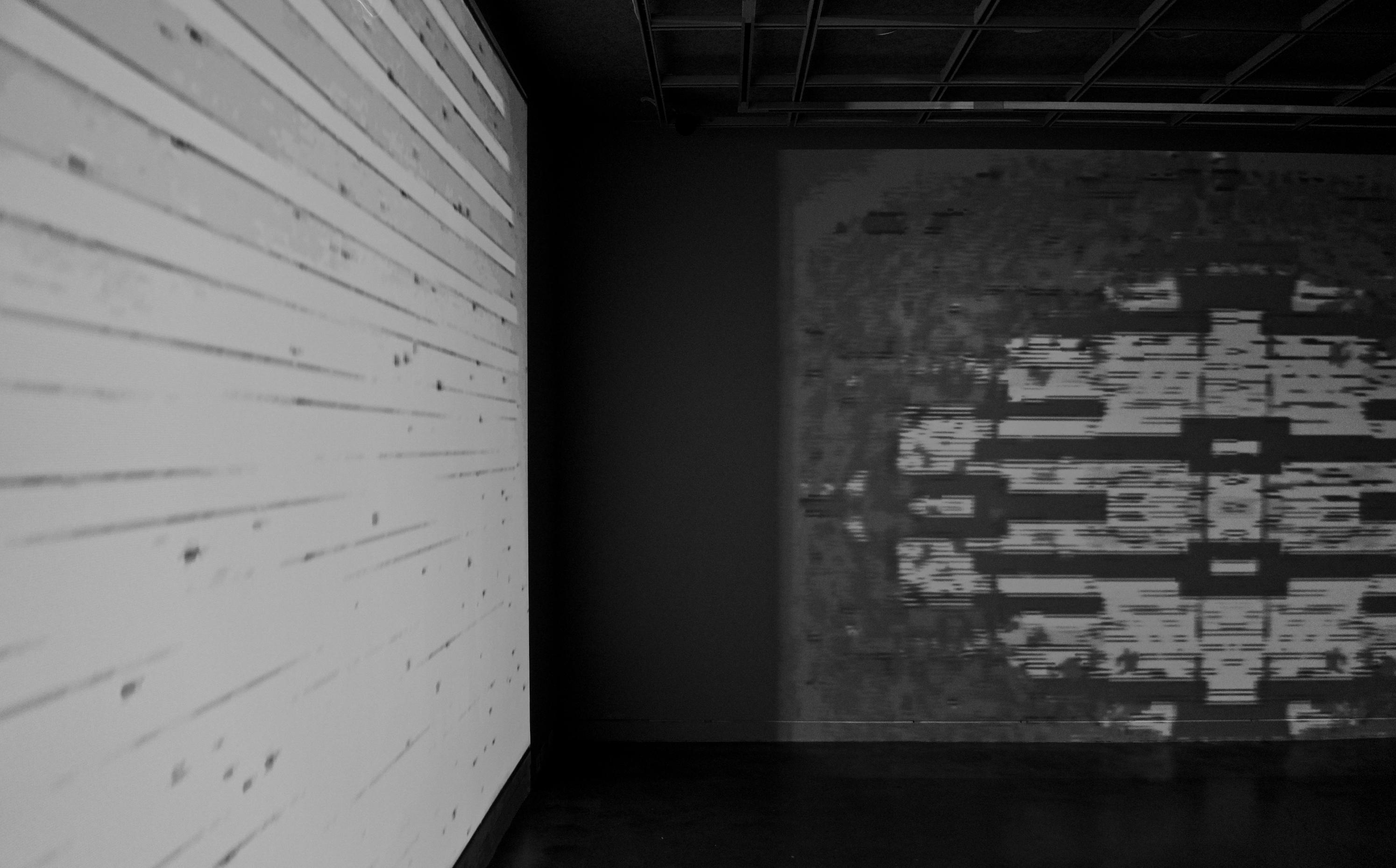 installation view of homage to aldo