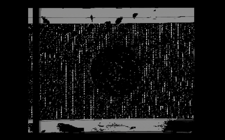 monochrome still from homage to aldo