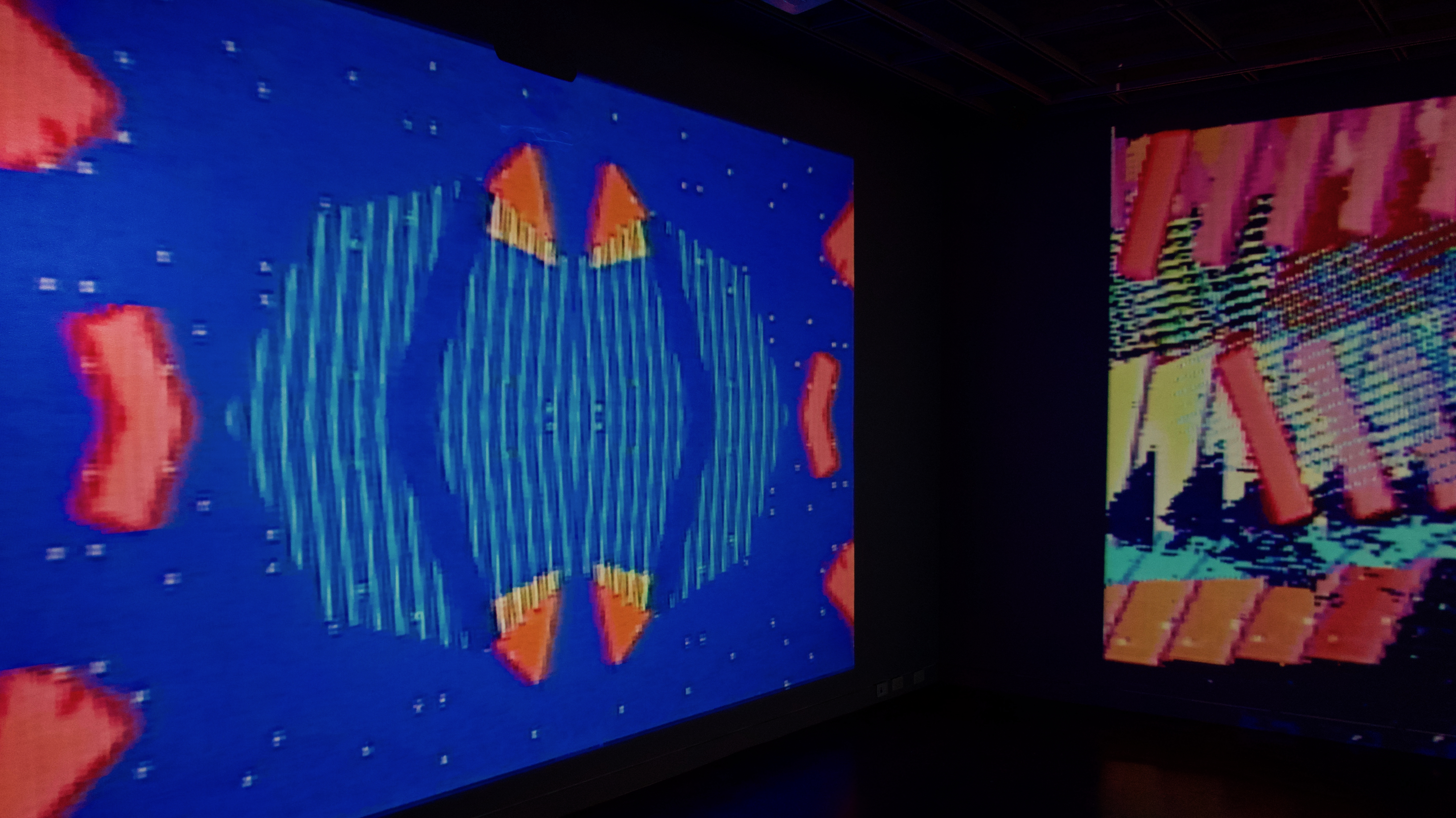 installation view of jets to codie